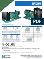 300 kva diesel generator set model HG 300