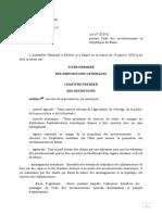 Code Des Investissements Version Corrigée. H E J (1)_Version Votée