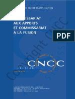 Commissariat Aux Apports Et Commissariat a La Fusion