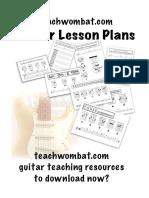 teachwombat guitar lesson