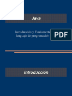 POO introduccion a java