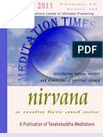 MEDITATION TIMES MARCH 2011