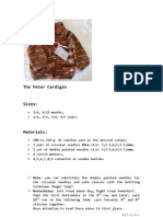 The Peter Cardigan