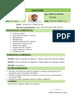 CV agronome