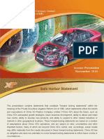 CXDC Investor Presentation