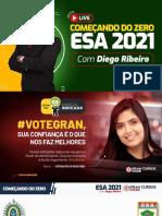 ESA - 2021 Comece agora - Diego Ribeiro
