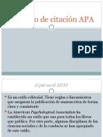 Formato de citación APA