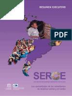 SERCE cognitivo Resumen Ejecutivo 2008