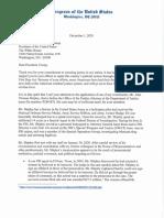 Loudermilk Letter to POTUS on Shipley Pardon