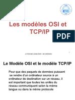 Le Modèle OSI et modèle TCP-IP
