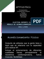 Acondicionamiento Físico Clase 2 PDF