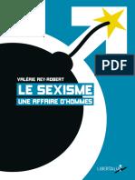 Le sexisme, une affaire d'hommes - Valérie Rey-Robert