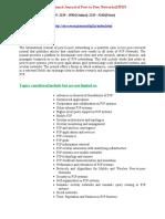 International Journal of Peer to Peer Networks IJP2P
