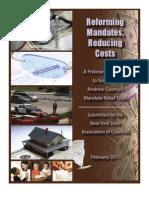 NYSAC County Mandate Report