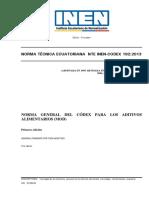 NTE INEN-CODEX 192_2013 NORMA GENERAL DEL CODEX PARA LOS ADITIVOS ALIMENTARIOS.pdf