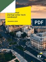 Ecosistemul Start-up-urilor de Tehnologie Din Romania 2020