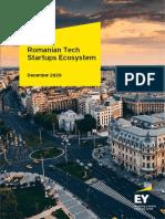 EY 2020 Romanian Tech Startups Ecosystem