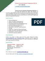 International Journal of Recent Advances in Mechanical Engineering IJMECH