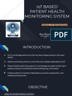 IoT BASED  PATIENT HEALTH MONITORING SYSTEM