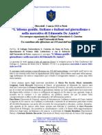 """""""L'idioma gentile. Italiano e italiani nel giornalismo e nella narrativa di Edmondo De Amicis"""""""