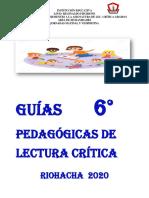 GUÍAS PEDAGÓGICAS LECT. CRÍTICA 6.