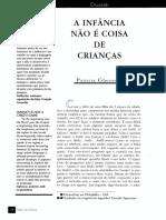 A   INFÂNCIA   NÃO  É  COISA  DE CRIANÇAS.pdf