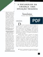 A  PSICANÁLISE    DA    CRIANÇA    UMA    SITUAÇÃO  VIOLENTA.pdf