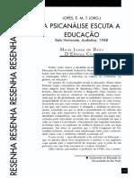 A  PSICANÁLISE  ESCUTA A EDUCAÇÃO.pdf