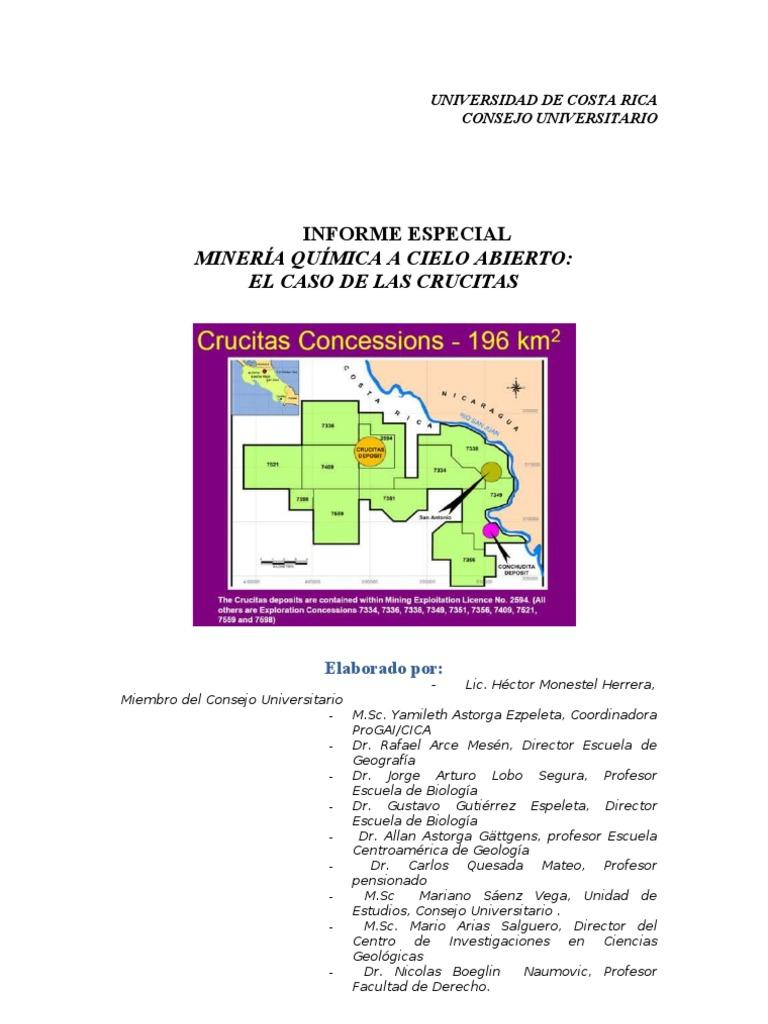 Informe Final de Crucitas-Consejo Universitario