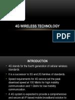 4g Wireless Technology