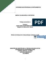 Informe de Estrategias e Instrumentos