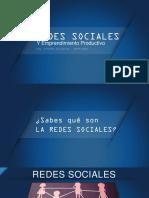 Redes Sociales y Emprendimiento Productivo
