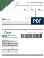 ANDRÉS FELIPE orden de pago 1020809373