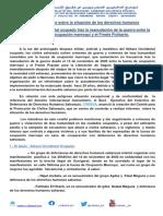 CODESA - Breve Informe Sobre La Situación de Los Derechos Humanos en El Sahara Occidental Ocupado