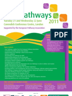 Clinical/Care Pathways 2011