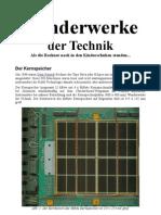 Wunderwerke Der Technik (Der Kernspeicher aus 1980)