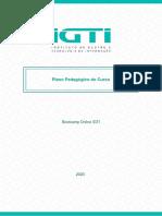 Bootcamp Online IGTI – Plano Pedagócio do Curso