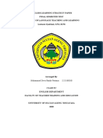 ENGLISH LEARNING STRATEGY PAPE1.docx