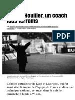 Gérard Houllier, un coach tous terrains - Libération