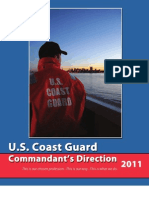 Commandant of the Coast Guard  Direction 2011