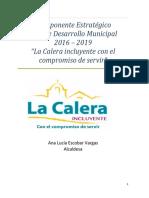 plan desarrollo LaCalera_2016