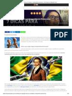 7 Dicas Pra Alcançar a Independência Financeira - Me Poupe! Por Nathalia Arcuri