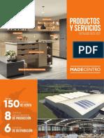Catalogo productos y servicios Madecentro .pdf