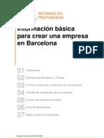 Formacion de empresa en BCNA