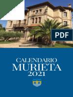 Calendario de Murieta para el año 2021