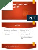 REDES Y SISTEMAS DE ZONIFICACION
