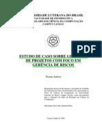 02 - ESTUDO DE CASO SOBRE GERÊNCIA RISCOS