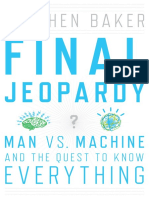 Final Jeopardy by Steven Baker