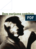 Does Marijuana Contribute to Psychotic Illness
