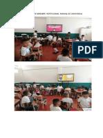 ACTIVIDADES SOBRE HORIZONTE  INSTITUCIONAL  MANUAL DE CONVIVENCIA